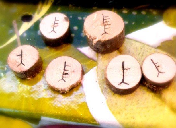 oracolo celtico degli alberi